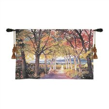 Cityscape, Landscape, Seascape Autumn Path Tapestry