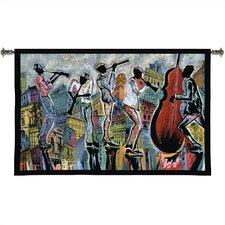 Abstract Jazz Reflections I Tapestry