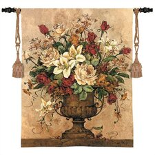 """""""Floral Reflections I"""" Tapestry"""