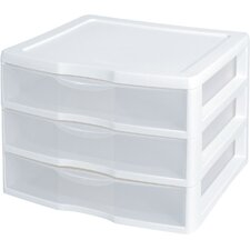 3 Drawer ClearView™ Storage Organizer (Set of 3)