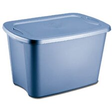 18 Gallon Storage Tote Box (Set of 8)