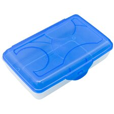 Plastic Pencil Box (Set of 6)