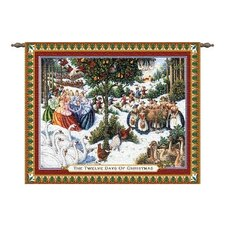 Twelve Days of Christmas Tapestry