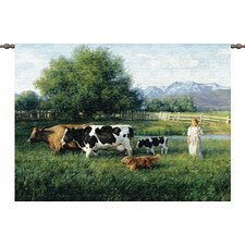 Country Girl Tapestry