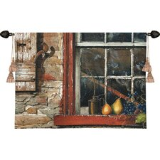 Fruit on Window Sill Tapestry