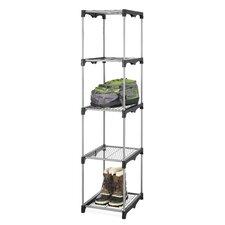 """68"""" H Four Shelf Shelving Unit (Set of 2)"""