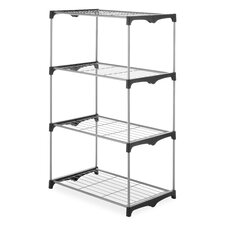 4 Tier Closet Shelves