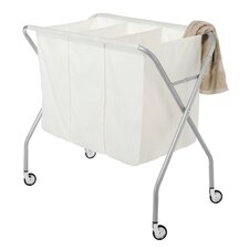 Deluxe 3 Section Laundry Sorter