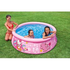 "Hello Kitty Round 20"" Deep Easy Set Pool"
