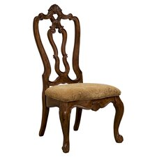 Villa Cortina Carved Back Side Chair (Set of 2)