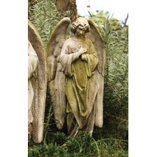 Angels Prayer of Angel Cross Hands Statue