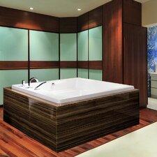 "Lacus 70"" x 70"" Soaking Bathtub"