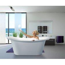 "LoveMe 71"" x 34"" Soaking Bathtub"