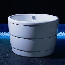 """PURESCAPE 39"""" x 39"""" Soaking Bathtub"""