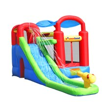 Water Slide with Playstation Bounce House
