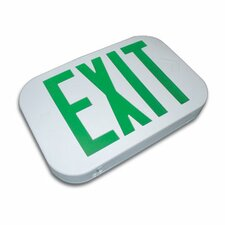 Thermo Plastic Snap Design Exit Sign