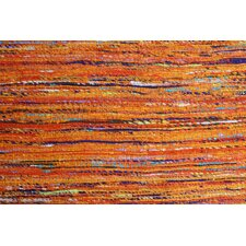Rainbow Orange Area Rug