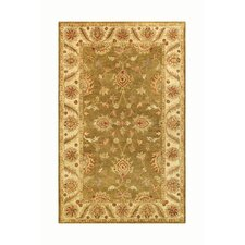 Golden Green/Gold Area Rug