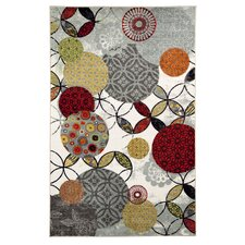 Strata Give and Take Kaleidoscope Printed Area Rug
