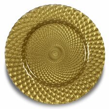 """Sorrento 12.9"""" Charger Plate (Set of 4)"""