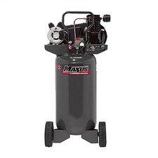 26 Gallon Electric Cast Iron Portable Single Stage 6.6 SCFM Air Compressor