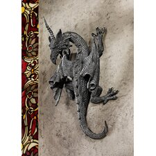 Horned Dragon of Devonshire Wall Décor (Set of 2)