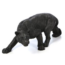 Shadowed Predator Panther Statue