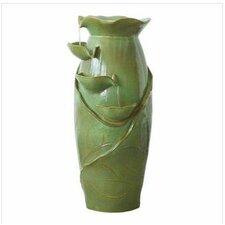 Ceramic Cascading Vines Garden Ceramic Tiered Fountain