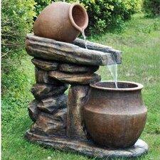 Villa Oliviero Cascading Garden Stone Sculptural Fountain