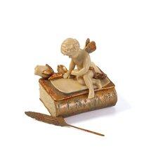 The Love Letter Box Figurine