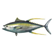 Yellowtail Tuna Ceiling Mount Trophy Sculpture