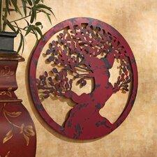 Enlightened Tree of Life Metal Wall Sculpture