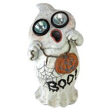 Ghostly Visions Solar Garden Ghost Statue