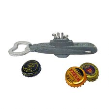 Nautilus Submarine Cast Iron Bottle Opener (Set of 2)