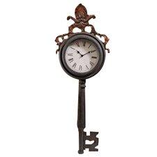 Unlocking Time Key Wall Clock