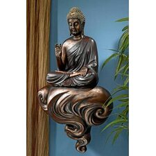 Enlightened Buddha on a Cloud Floating Wall Décor