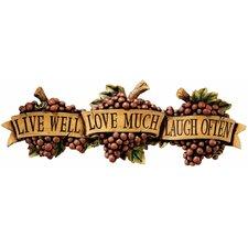 Live-Love-Laugh Wall Décor