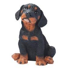 Rotweiler Puppy Dog Figurine