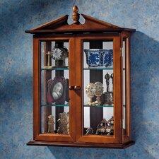 Amesbury Manor Wall Curio Cabinet