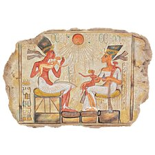 King Akhenaton, Nefertiti and Daughters Stele Wall Décor