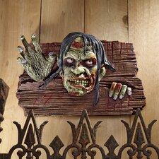 Zombies at the Door Wall Plaque