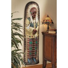 Chief Lone Raven Replica Turn-of-the-Century Advertising Wall Décor