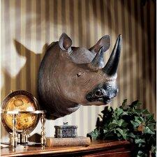 Black Rhinoceros Wall Décor
