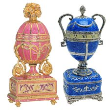 The St. Petersburg Imperial Enameled Egg Collection