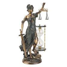 Goddess of Justice Themis Desktop Figurine