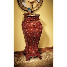 Villandry Wooden 6 Drawer Storage Bombe Cabinet