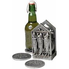 Medieval Norman Warriors Coaster Set
