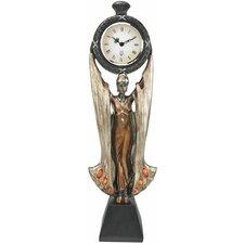 Fortune's Muse Sculptural Wall Clock