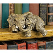 Ernie the Elephant Shelf Sitter Sculpture (Set of 2)