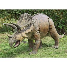 Jurassic - Sized Triceratops Dinosaur Statue